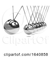 3d Newtons Cradle Device