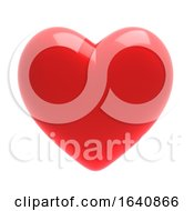 Poster, Art Print Of 3d Red Heart