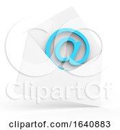 3d Email Inside Envelope Symbol