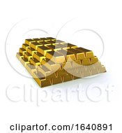 3d Gold Bullion Stack