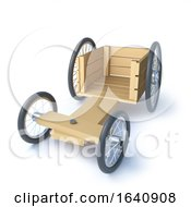 3d Front View Go Kart