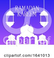 Ramadan Kareem Background by KJ Pargeter