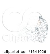 Abstract Horse Grid Background