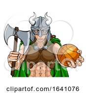Viking Female Gladiator Basketball Warrior Woman