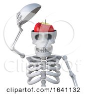 3d Skeleton Reveals An Apple In His Head