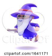 3d Floating Wizard