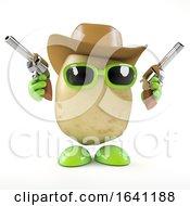 3d Cowboy Potato by Steve Young