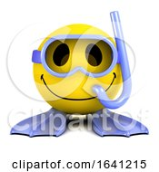 3d Smiley Diver by Steve Young