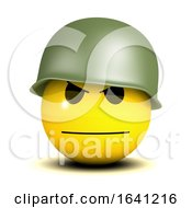 3d Serious Smiley Soldier by Steve Young