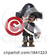 3d Pirate Captain Has Copyright