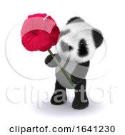 Poster, Art Print Of 3d Panda Rose