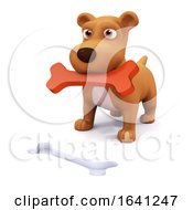 Poster, Art Print Of 3d Puppy Puzzle