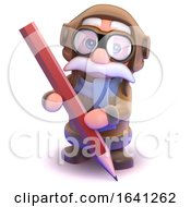 3d Pilot Pencil