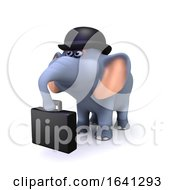 3d Business Elephant by Steve Young