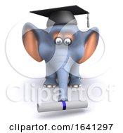 3d Elephant Graduates by Steve Young