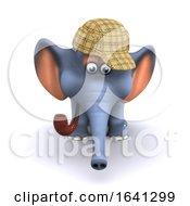 3d Sherlock Elephant by Steve Young