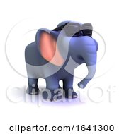 3d Groovy Elephant by Steve Young