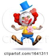 3d Clown Gets A Shock