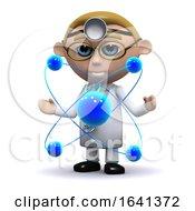 3d Doctor Studies Atoms