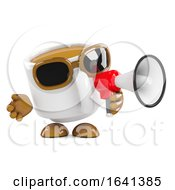 Poster, Art Print Of 3d Coffee Cup Announcement