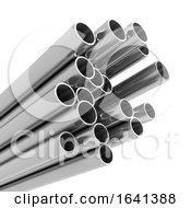 3d Metal Pipes