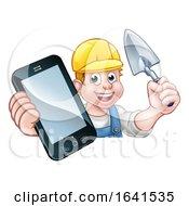 Poster, Art Print Of Builder Phone Concept