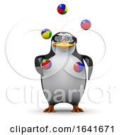 3d Penguin Juggling by Steve Young