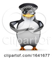3d Penguin Police Officer by Steve Young