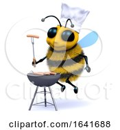 3d BBQ Bee by Steve Young