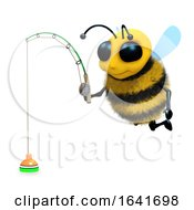 3d Bee Fishing by Steve Young