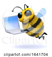 3d Bee Laptop by Steve Young