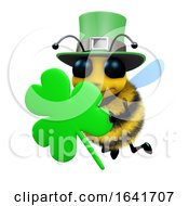 3d St Patricks Day Bee by Steve Young