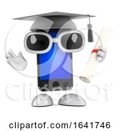 3d Smartphone Graduate by Steve Young