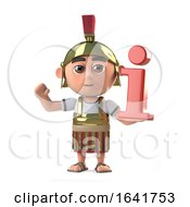 3d Roman Centurion Soldier Has Information by Steve Young