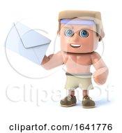 3d Bodybuilder Has Mail
