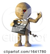 3d Egyptian Mummy Monster Makes A Movie by Steve Young
