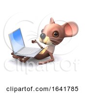 3d Mouse With Laptop by Steve Young