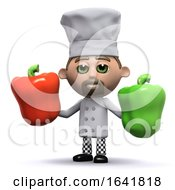3d Chef Has Some Peppers