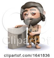 3d Caveman Has A New Invention