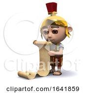 Poster, Art Print Of 3d Roman Soldier Shopping List
