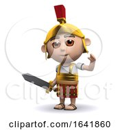 3d Roman Soldier Waves by Steve Young
