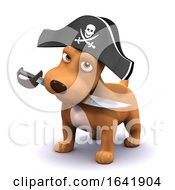 Poster, Art Print Of 3d Puppy Pirate