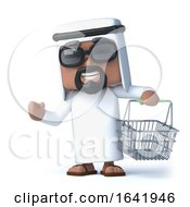 3d Arab Goes Shopping by Steve Young