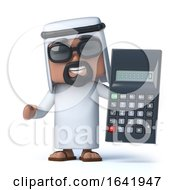 3d Arab Has A Calculator