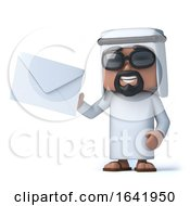3d Arab Has Mail by Steve Young