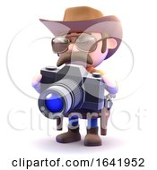 3d Cowboy Sheriff Takes A Picture