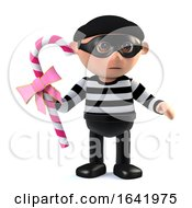 3d Burglar Steals Candy