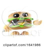Poster, Art Print Of 3d Dj Burger