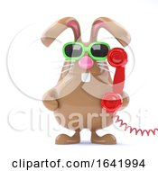 Poster, Art Print Of 3d Helpdesk Bunny