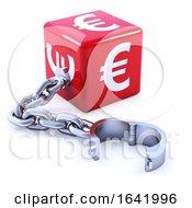 3d Red Euro Dice Leg Iron